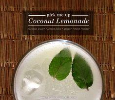 Detoxifying Coco Lemonade Recipe