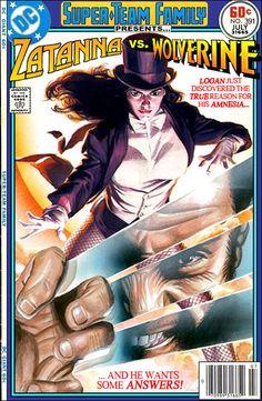 Super-Team Family: The Lost Issues!: Zatanna Vs. Wolverine