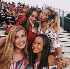Photography Ideas For Teens Bestfriends Girls Ideas High School Football Games, Football Themes, Hs Football, Best Friend Pictures, Bff Pictures, Friend Pics, Bff Pics, Squad Pictures, Glitter Pictures