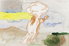 Pavel Pepperstein - Nuclear Explosion, Work on Paper