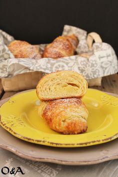 Olio e Aceto: Ricetta croissant al lemon curd