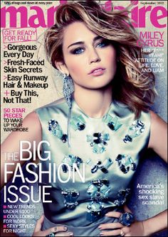 Miley Cyrus Makes Marie Claire's September Cover