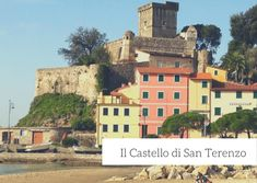 Il Castello di San Terenzo, nel Golfo dei Poeti Golf, Mansions, House Styles, Tower, Italy, Luxury Houses, Palaces, Mansion, Wave