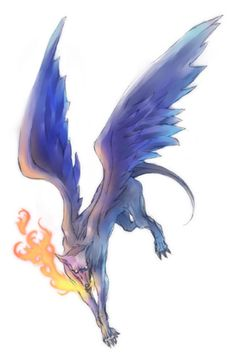 Glasya-labolas- Christian myth: a president of hell. He was the creator of murder. he told all things past and to come. he knew all sciences, make love ignite in the heart of others, incited homicides and could make men invisible. He was depicted as a fire breathing dog with the wings of a griffin.