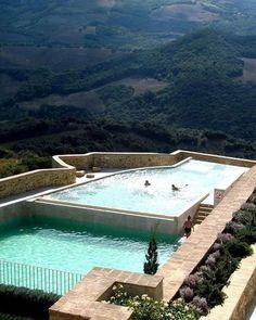 Castello Di Velona, Montalcino, Italy. #escapism
