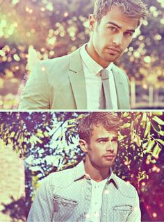 Theo James. So swoon-worthy. He is such a cutie pie with that accent ! <3 <3