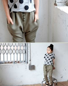 Everyday Slouchy Pants-Color Me WHIMSY