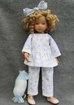 "Tenue Pour Poupée Little Darling 13"" DE Dianna Effner Pyjama   eBay"