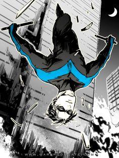 Nightwing by Haining-art.deviantart.com on @deviantART