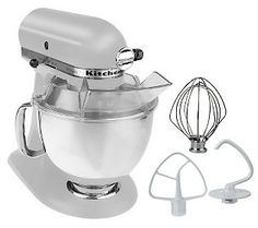 The best stand mixer for the home based cook. The flip back head swings out of the way, the crank model, the head is always in the way. I have owned both and like this one better.