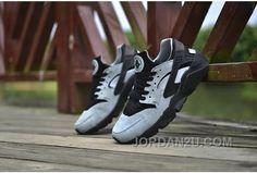 28d76b5425b8 Nike Air Huarache Run PRM - 704830-301 Black Grey