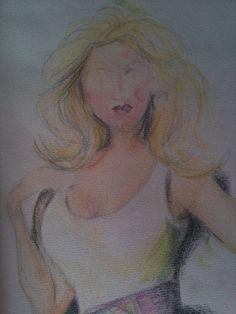 practice with colour pencils