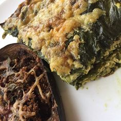Sarah and I love this dinner! It's a spinach and egg frittata with stuffed eggplant with garlic and onions! 💚🌱 Perfect for our Herbal Slim program #metabolism #love #viral #naturalhealth #newzealand #detox #detoxify #detoxification #detoxifying #cleanfood #slimming #weightwatchers #slimmingworldsupport #slim #liverdetox #sugardetox #brettelliott #no1detoxnz #ultimateherbaldetox #food #herbs #weightloss www.brettelliott.com