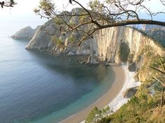 Playa del Silencio, Asturias, Spania