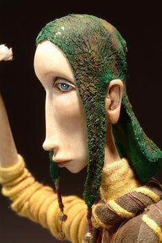 Юлия Ральникова.Авторская кукла из дерева – 17 фотографий