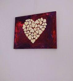 Valentijn schilderij om te maken met kinderen (+ werkbeschrijving)