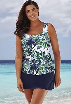 eca18cba41 Skirtinis - Beach Belle Lulav Classic Skirtini Swimsuits For All