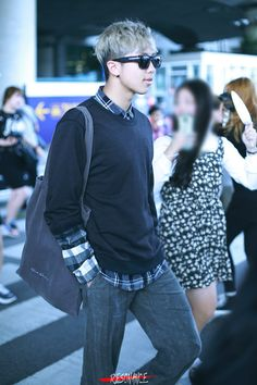 Cool and casual fashionista...Kim Namjoon