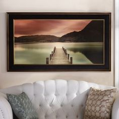 The Ullswater Framed Print will bring a sense of peace and serenity to your living room. #Kirklands #fallreatreat