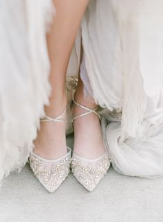 Wedding Editorial with florals by Floressence Flowers and styling and planning by Alise Taggart. Captured by film wedding photographers Almond Leaf Studios. Unique Wedding Shoes, Designer Wedding Shoes, Wedding Accessories, Elegant Wedding, Bling Wedding, Ivory Wedding, Romantic Weddings, Chic Wedding, Wedding Bells