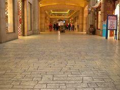 Pavimento in calcestruzzo stampato DECOTOP OVERLAY by Stone International