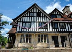 Medieval Grade II listed terraced cottages in Fletching #Sussex