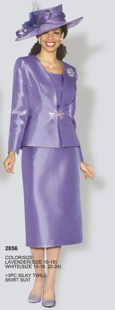 Lily and Taylor 2856 Womens 3pc Church Suit