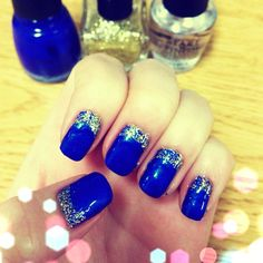 We <3 the #UCIPride nail art by by laureentma via Instagram!   #UCIrvine #UCI #nails #nailart #zot