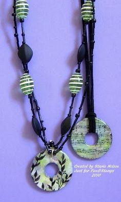 hardware washer necklaces tutorial