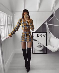 29 trendy classy outfit for teen 18 Teen Fashion Outfits, Mode Outfits, Skirt Outfits, Look Fashion, Fall Outfits, Girl Fashion, Fashion Pics, Fashion Fall, Fashion Trends