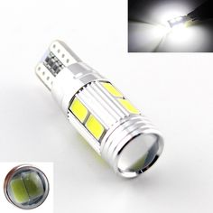 2x Car Auto LED T10 194 W5W Canbus 10SMD 5630 5730 LED Light Bulb No error led parking Fog light Auto No Error univera car light <3 Detailed information can be found by clicking on the VISIT button