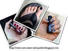 Men can wear nail polish: What is the identity of a man who wears nail polish?