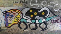 Street art Parc du Château à Morsang-sur-Orge - Animal en couleur 20150926121