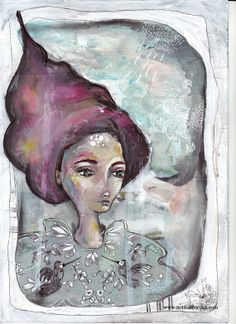 fine art print fairy tale art romantic magical by SiobhanJordan, Fairytale Art, Print Artist, Face Art, Cool Artwork, Painting & Drawing, Fairy Tales, Fine Art Prints, Art Gallery, Romantic