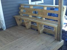 Custom Deck Bench and Railing – Kreg Owners' Community
