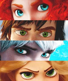 Disney | Brave| how to train your dragon | rise of the guardians | tangled. also known as rise of the brave tangled dragons.