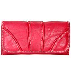 JENNYFER / Cartera para dama 6711-1 color Rojo