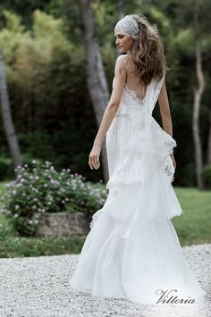 VITTORIA (Vestido de Novia). Diseñador: Alberta Ferretti. ...