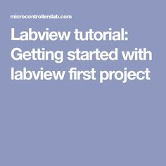 21 Best LabView images in 2016 | Arduino, Programming, Books