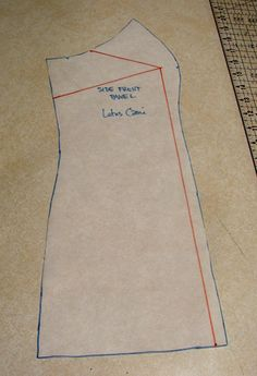 Most patterns are made for B cups! These instructions saved me when I made my daughter's wedding dress.