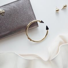 "Enamel Spiked Bracelet Material: Base Metals & Resin; Lead & Nickel Free 🔸 Size: 2.25"" Diameter 🔸 Price Firm unless Bundling 🛍 T&J Designs Jewelry Bracelets"