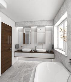 Luxusní koupelna MARBLE - vizualizace