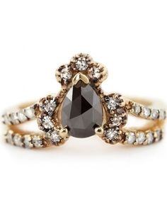 Immortalia by ManiaMania Gold & Black Ritual Solitaire, Sigh...a girl can dream.