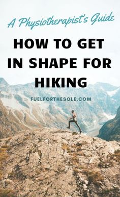 We have put together the ultimate list of exercises for the best workout plan to train for hiking & backpacking trips. Use this guide for motivation to get in shape, lose weight & build lower body muscle & strength for better hiking outdoors.