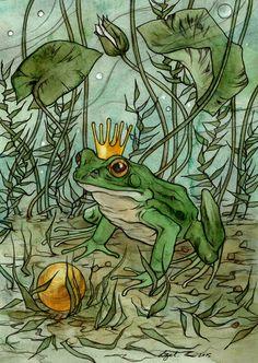 The Frog Prince. by liga-marta on DeviantArt