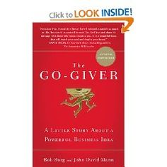 Bob Burg and John David Mann hit it out of the park with The Go-Giver. I had a great time hearing how they came up with the ideas for this book.