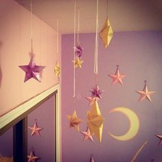 Pinterest: @Mer_Elise Because stars are pretty and reminds me of CDC :) Would do well with my cloud fairy lights!