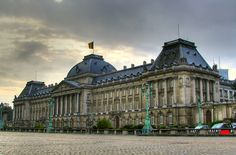 Royal Palace of Brussels, Belgium. Official residence of the Belgian Royal Family.