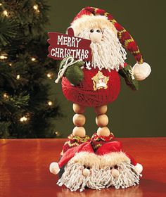Decorative Christmas Yarn Pals|The Lakeside Collection