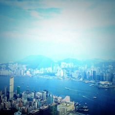 Too see another side of the world... View from the sky...#Hongkong #travel